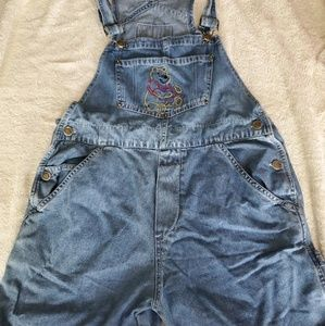 Disney Winnie The Pooh overall shorts
